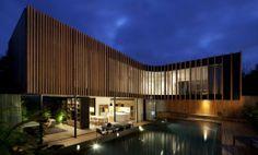 Arquitetura casa Masculino e moderna por Matt Gibson