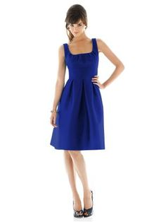 Alfred Sung Style D447 http://www.dessy.com/dresses/bridesmaid/d447/