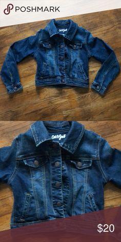 9f6e291a6 Girls jean jacket Size medium (7/8) jean jacket Jackets & Coats Jean