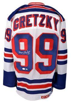 Wayne Gretzky Autographed Authentic Jersey -  PSA/DNA Certified - Sports Memorabilia