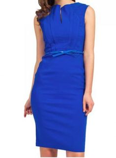 ideas for dress blue outfit royal work Trendy Dresses, Nice Dresses, Casual Dresses, Dresses For Work, Blue Dress Outfits, Royal Blue Dresses, Royal Blue Blazers, Blue Cocktail Dress, Cocktail Dresses