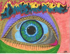 Inscrutable eye #marker #eyeball #illustration #sketch #art #beauty #drawing #pencil #coloredpencil