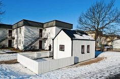 How do you create a home with just 94 square foot of living space? Sweden's Lund housing commission AF Bostader designed this contemporary micro apartment for a student. Tiny Studio Apartments, Sweden House, Micro Apartment, Micro House, Cabins And Cottages, Square, Small Space Living, Home Studio, Beautiful Space