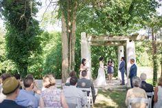 Historic shady lane wedding ceremony - Historic Shady Lane greenhouse wedding - Maria Silva Goyo Photography