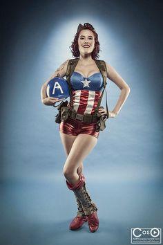 [Self] captain America cosplay #cosplay #captainamerica