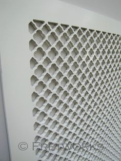 Decorative Panels - modern - screens and wall dividers - Fretworks Designs, LLC Baseboard Heater Covers, Register Covers, Vent Covers, Radiator Cover, Decorative Panels, Quatrefoil, Interiores Design, Home Furniture, Painted Furniture