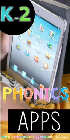 PHONICS apps for kindergarten, first grade and second grade students via experienced teachers. #Toddlerphonics