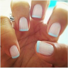 2015 French Manicure Designs