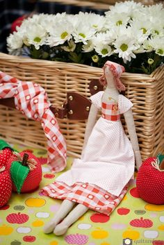 Projeto boneca camponesa