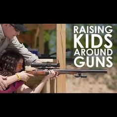 When taught young about firearm safety and proper use - children become responsible gun owning adults.