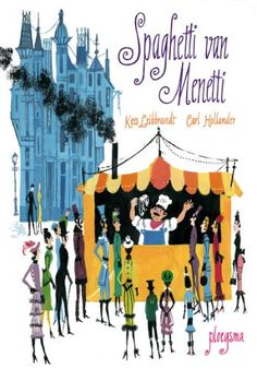 Spaghetti van Menetti van Kees Leibbrandt (auteur) en Carl Hollander (illustrator) (middenbouw)