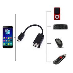EPtech USB Host OTG Adapter Cable Cord For LG Optimus L70 D325 N D321 D320 MS323 Phone * See this great product by click affiliate link Amazon.com