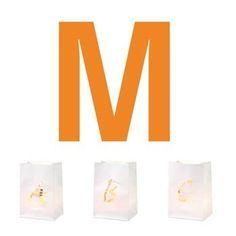 P & P Buchstaben Lichtt�te M