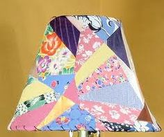Quilted lampshade | Home | Pinterest