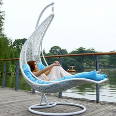 Super Cozy Hanging Rattan Chairs: 85 Best Ideas for Your Perfect Room https://www.futuristarchitecture.com/19763-hanging-rattan-chair.html