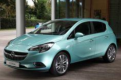 Wersja dla Pań - pastelove Opel Corsa. Idealna na wiosnę! :) #opel #corsa
