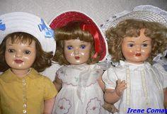 Muñecas antiguas de mi colección www.irenecomas.com