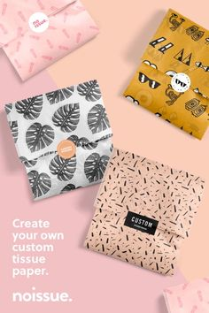 Craft Packaging, Soap Packaging, Packaging Ideas, Design Packaging, Pretty Packaging, Packaging Design Inspiration, Clothing Packaging, Jewelry Packaging, Fashion Packaging