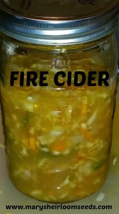 Mary's Kitchen: DIY Fire Cider Recipe