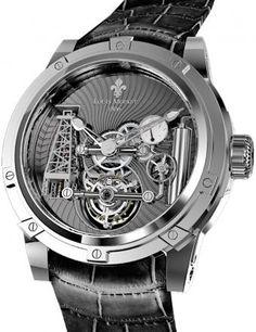 Louis Moinet Derrick Gaz White Gold | Timeless Luxury Watches