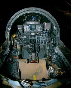 DAYTON, Ohio -- McDonnell Douglas Wild Weasel cockpit at the National Museum of the United States Air Force. Vietnam, Us Military Aircraft, F4 Phantom, Navy Marine, Air Force Bases, Museum Exhibition, National Museum, Warfare, Fighter Jets