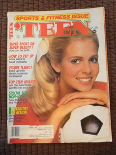 May 1981 cover with Kajsa Ceder