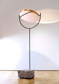 monolithic based copper lamp | lighting . Beleuchtung . luminaires | design conception |