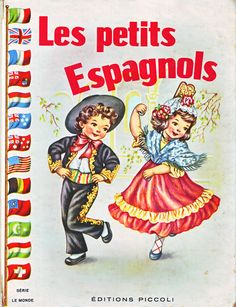 Spanish Children illustrated by Maria Pia Franzoni