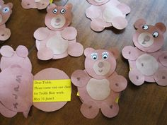 Teddy bear crafts