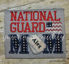 National Guard MOM t shirtArmed forcesArmyAir by yourpursenality