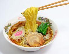 【食品サンプル】箸で持ち上げたラーメン【中華】 - fake food HATANAKA - 食品サンプルの畑中