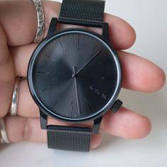 Komono Royale Series Watch Black