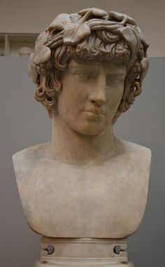 Antinous (l. c. 110-130 CE) was a youth of Bithynia who became the beloved of the Roman emperor Hadrian (l. 76-138 CE, r. 117-138 CE) from around the age of 13 until his death at nearly 20. His year of birth is unknown as are any details of his life before he met Hadrian in 123 CE. Statues, Roman Hairstyles, Alexandre Le Grand, Marble Bust, History Encyclopedia, Les Religions, Roman History, Roman Emperor, Ancient Beauty