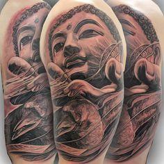 Buddha and raven