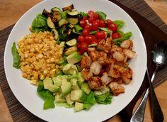 Southwest Grilled Shrimp Salad