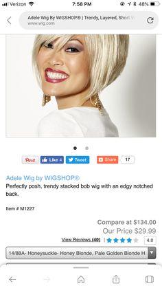 Perfectly Posh, Amazon Gifts, Wigs, Bob, Chokers, Fashion, Moda, Fashion Styles, Bob Cuts