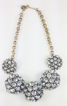 Love this Crystal Dome Necklace from PurplePeridot.com! Their jewelry is amazing!