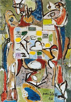 'The Tea Cup' (1946) by Jackson Pollock