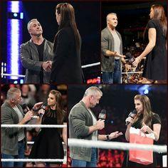 Image - Raw le 2 05 2016 - Shane et Stephanie mcmahon et leurs famille - Skyrock.com