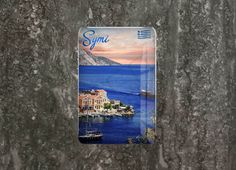 Traveller - Greece Collection - Fridge Magnets Symi Series; Epoxy Fridge Magnets Detail Page. #backhome #fridgemagnets #magnets #traveldiaries #lovelylife #gifts #giftshop #photoholder #magnet #giftingideas #giftingsolutions #quirkygoods #symi #greece