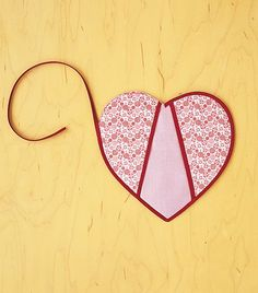 Heart Shaped Potholders from Martha Stewart's Encyclopedia of Sewing & Fabric Crafts   Purl Soho
