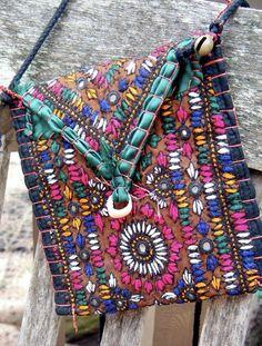 Colorful messenger bag