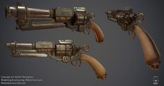 Firestorm - antique revolver by Nosslak on deviantART