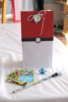 Craft, Interrupted: Pokemon Party: Gift bags and Glasses with Printables!