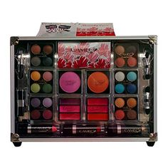 Cameo Train Makeup Kit with Reusable Aluminum Case Gift Set >>> Be sure to check out this awesome product affiliate link Amazon.com