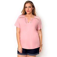Blusa Plus Size Rita » Nova Coleção