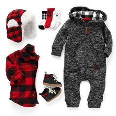 Baby Outfits, Newborn Outfits, Kids Outfits, Winter Outfits, Baby Boy Fashion, Fashion Kids, Toddler Fashion, Fashion 2016, Fashion Shoes