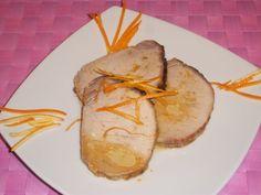 Ricetta per la Lonza di Maiale all'Arancia da fare in modo facile e veloce con ingredienti e procedimento con foto e video della ricetta.Come cucinare la lonza.