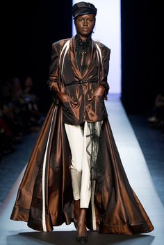 Jean Paul Gaultier Spring 2015 Couture Fashion Show - Ajak Deng