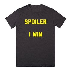 Spoiler I Win | Products